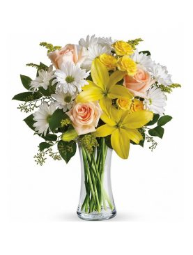 Assorted Flowers in Vase